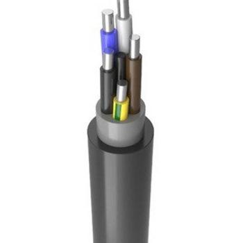 Силовой алюминиевый АВВГнг(А) 5х4ок(N
